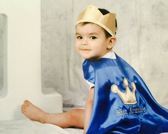 Prince Cape, Royal Birthday Outfit, Prince 1st Birthday Outfit, King 1st Birthday outfit