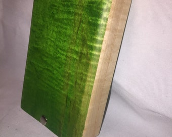 Green Tiger Maple Fly Box