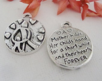 Mother Child  Love Word Charm