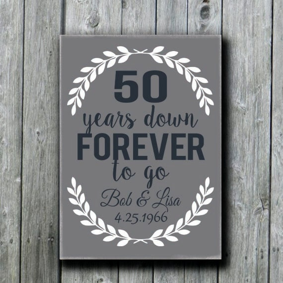 50th Wedding Anniversay Gifts: Items Similar To 50th Anniversary Gift, Grandparents