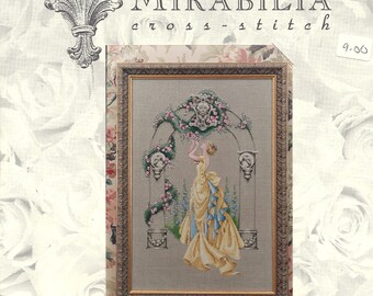 Mirabilia:  The Rose of Sharon and Rose Arbour Cross Stitch Kits