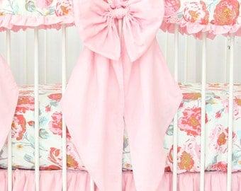 Light Pink Crib Bow