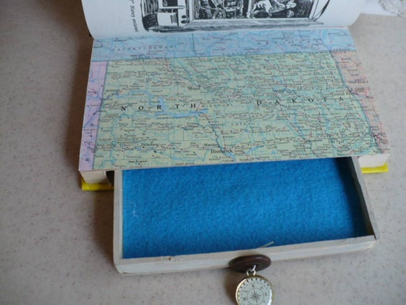 Secret Compartment, Hidden Compartment Book, Hollow Book Safe, Secret Book