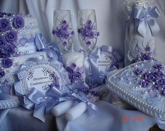 "Wedding package ""Lilac bouquet"""