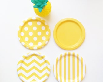 48 Mix and Match, Choose your Colors Paper Plates