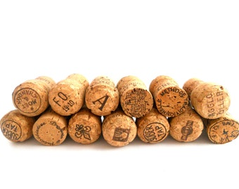 100 Used Recycled Champagne Corks