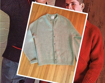 Vintage JC Pennys Cardigan Wool Sweater