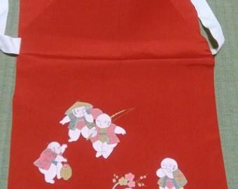 CLEARANCE!! Kimono Tsuke Obi Set, Japanese vintage traditional kimono belt set