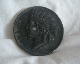 lucky indian head penny indian head lucky penny  souvenir penny of altoona  pa