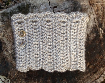 Customized Size and Color Crochet Boot Cuffs