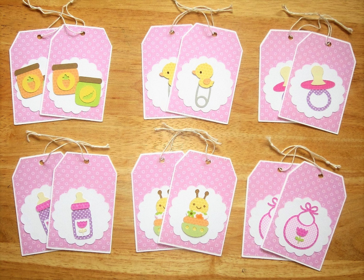It's just a photo of Transformative Baby Gift Tags