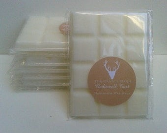 Exquisite Handmade Highly Scented Soy Wax Breakaway Melt Bar- Bakewell Tart