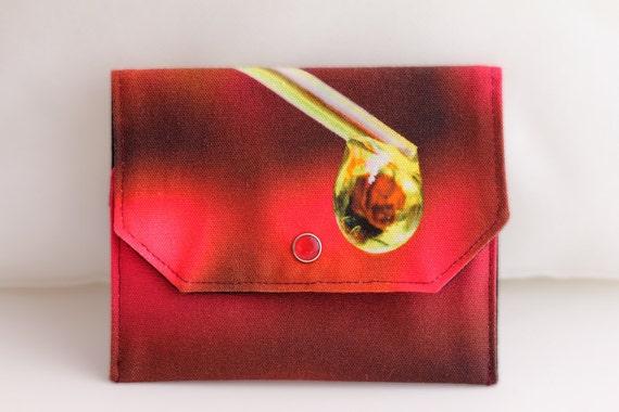 Essential Oil Bag for 3 bottles (15ml) Rose Oil Drop, doTERRA, Young Living, Eden's Garden