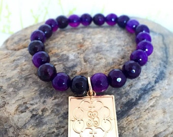 Purple Susie bracelet