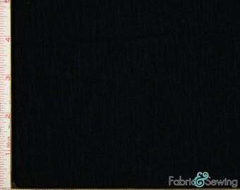 "Black Knit Jersey Fabric 2 Way Stretch Rayon 6 Oz 58-60"""