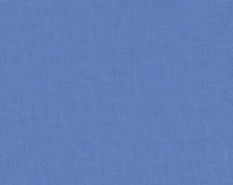 Fabric - Robert Kaufman - Essex linen/cotton- Periwinkle.