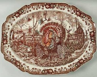 "Johnson Brothers 'His Majesty' 20"" Platter"
