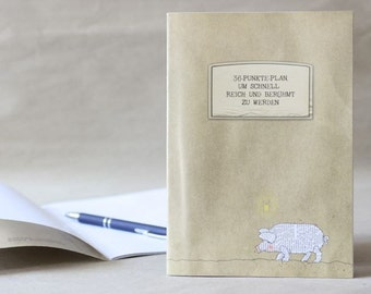 Notebook to the rich and famous