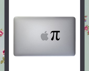 Mac Decal, Apple Pi, Apple Macbook, iPad & Other Laptop Vinyl Decal, Mac Sticker, Macbook Sticker, Macbook Decal,Maths Geek,