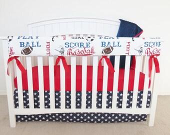 Crib Teething Rail Guard - LONG RAIL - Crib Teething Guard Cover, Crib Rail Guard, Crib Teething Rail Cover