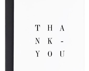 Thank you cards, Thank you greeting cards, thanks, simple cards, minimal cards, greeting cards, Thank you, Blank cards, blank greeting cards