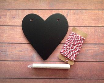 Chalkboard bunting, loveheart bunting,DIY bunting,  bunting kit, loveheart garland, DIY bunting kit