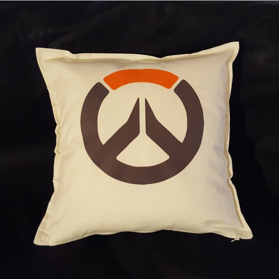 overwatch pillow cover 20 x 20 with zip 100 by testedipezza. Black Bedroom Furniture Sets. Home Design Ideas