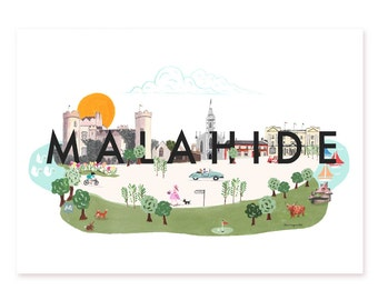 Malahide Dublin Archival Print