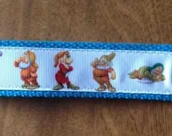 Seven Dwarfs Wristlet Key Fob Key Chain