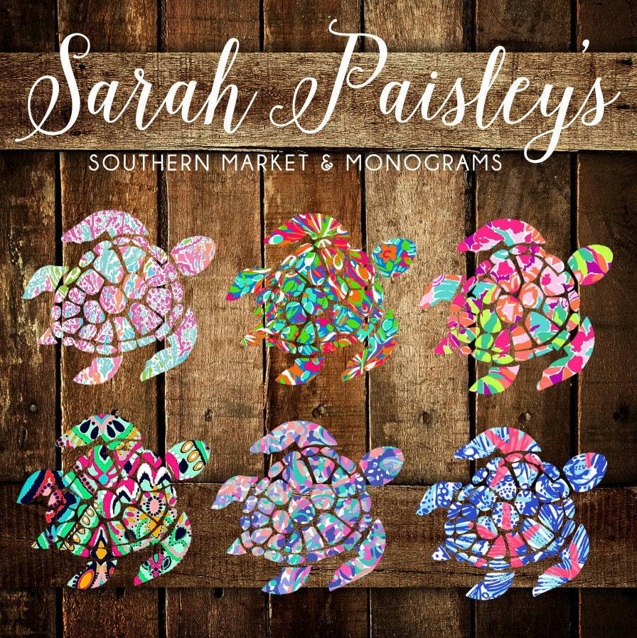 Sea Turtle Decal Turtle Decal Vinyl Decal By Sarahpaisleys