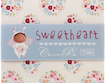 Tilda Sweetheart Charm Pack 42 pieces