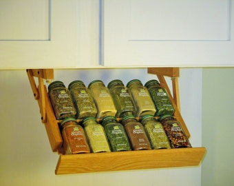 Under Cabinet Mini Spice Rack from Ultimate Kitchen Storage