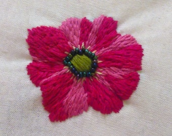 Red Flower Sample