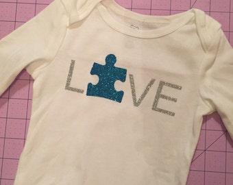Items Similar To Autism Awareness Desk Shelf Mantle