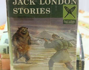 A striking 1960 First Edition Hardback Omnibus of  Jack London's  Stories
