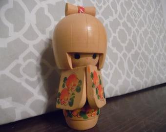 Vintage Japan Kokeshi Doll