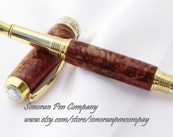 Triton Redwood burl Fountain pen