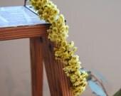 Mini Yellow Daisy Crown