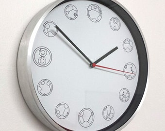 Gallifreyan Clock inspired By Doctor Who