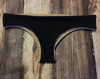 BonVie Black Cheeky Roo Bottoms