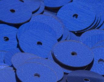 8mm BLUE Flat Round Vintage Sequins Pillettes 200pcs 80103010