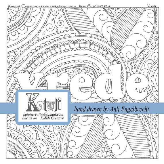 Coloring Book For Adults Meaning : Coloring pages for adults Vrede meaning