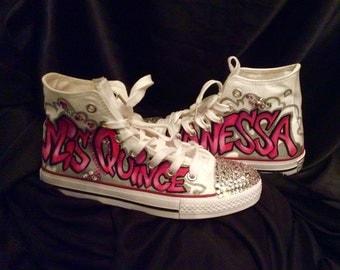 Quinceanera Sneakers, Shoes/ not original converse