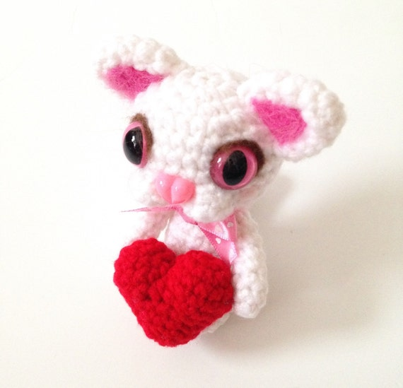Amigurumi Cat Doll Crochet Cat Doll Amigurumi Cat Plush Kitten