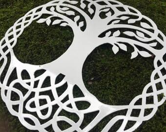 Metal Celtic Tree of Life