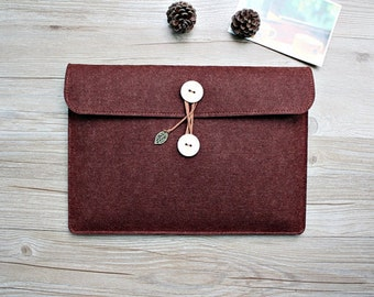 Gift felt Macbook Air 13 sleeve, Macbook 13 sleeve, Macbook 13 case, Macbook Air case, Macbook pro sleeve, Laptop sleeve laptop case 266