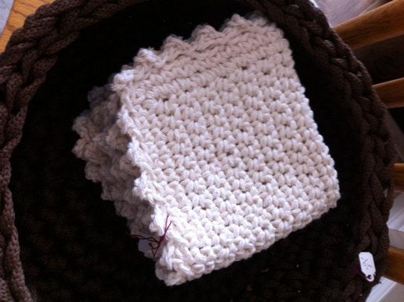 100% Cotton Pretty Face Cloth