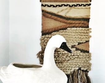 Ceramic Swan Planter