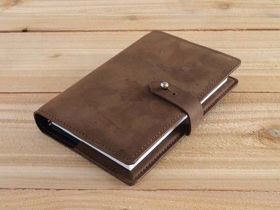Wingate - 4X6 Refillable Light Brown, Handmade Leather Journal