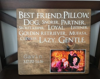 Pet memorial wall decor, wood pet memorial, grief gift, rememberance gift, in memoriam, loss of pet, dog, cat, pet loss gift, sympathy gift